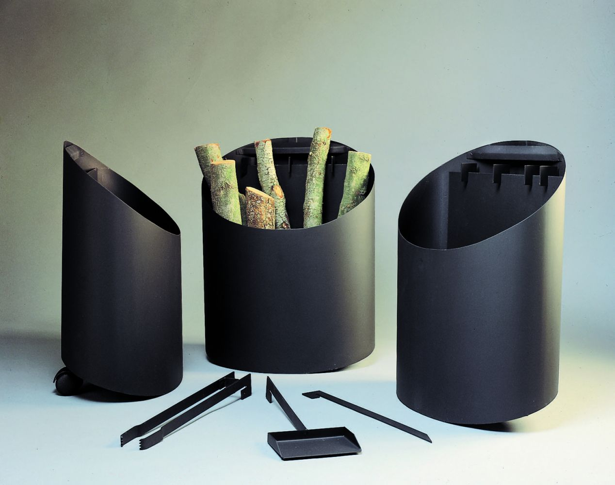 porta-troncos chimenea design