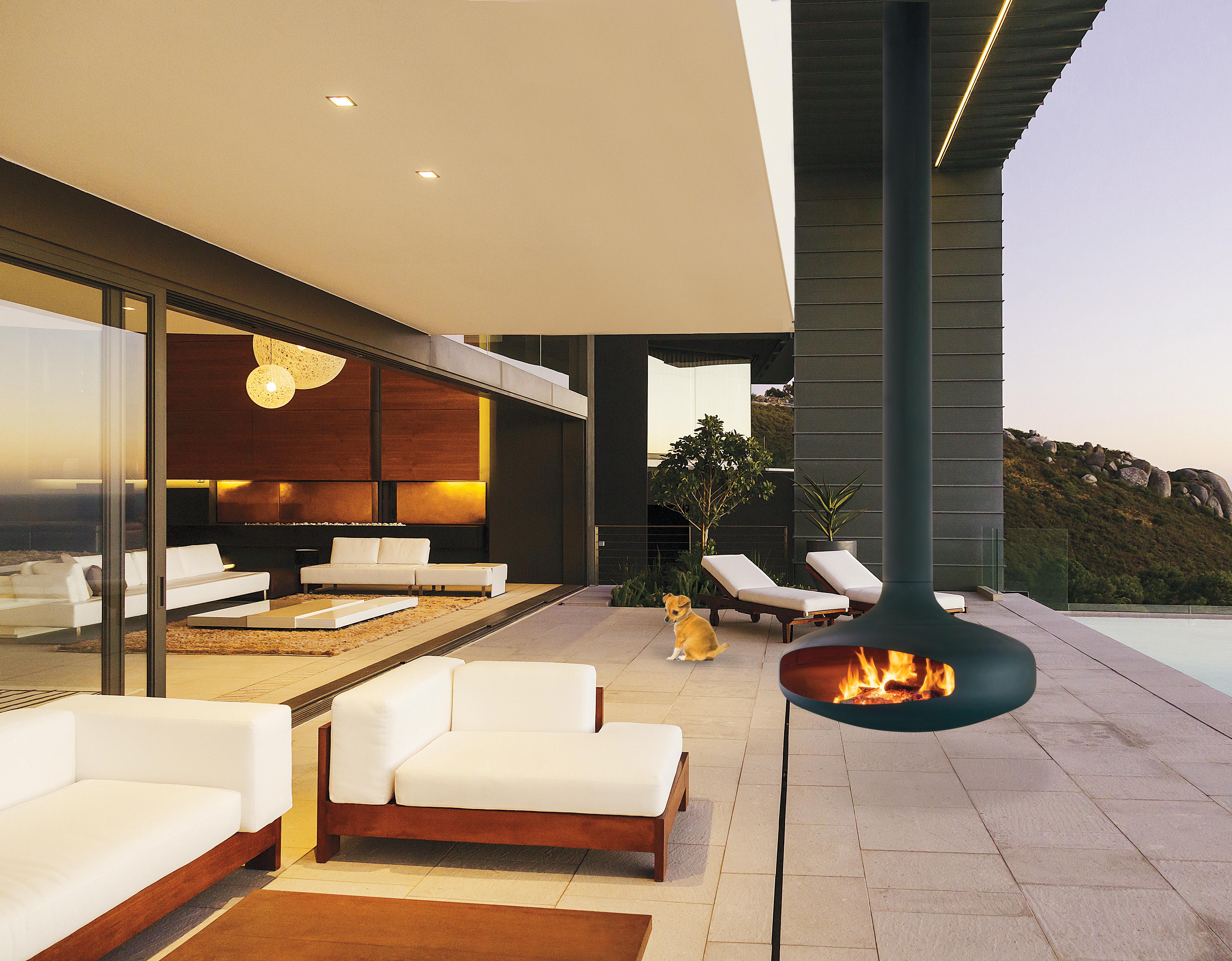 chimenea design de exterior, Domofcus outdoor