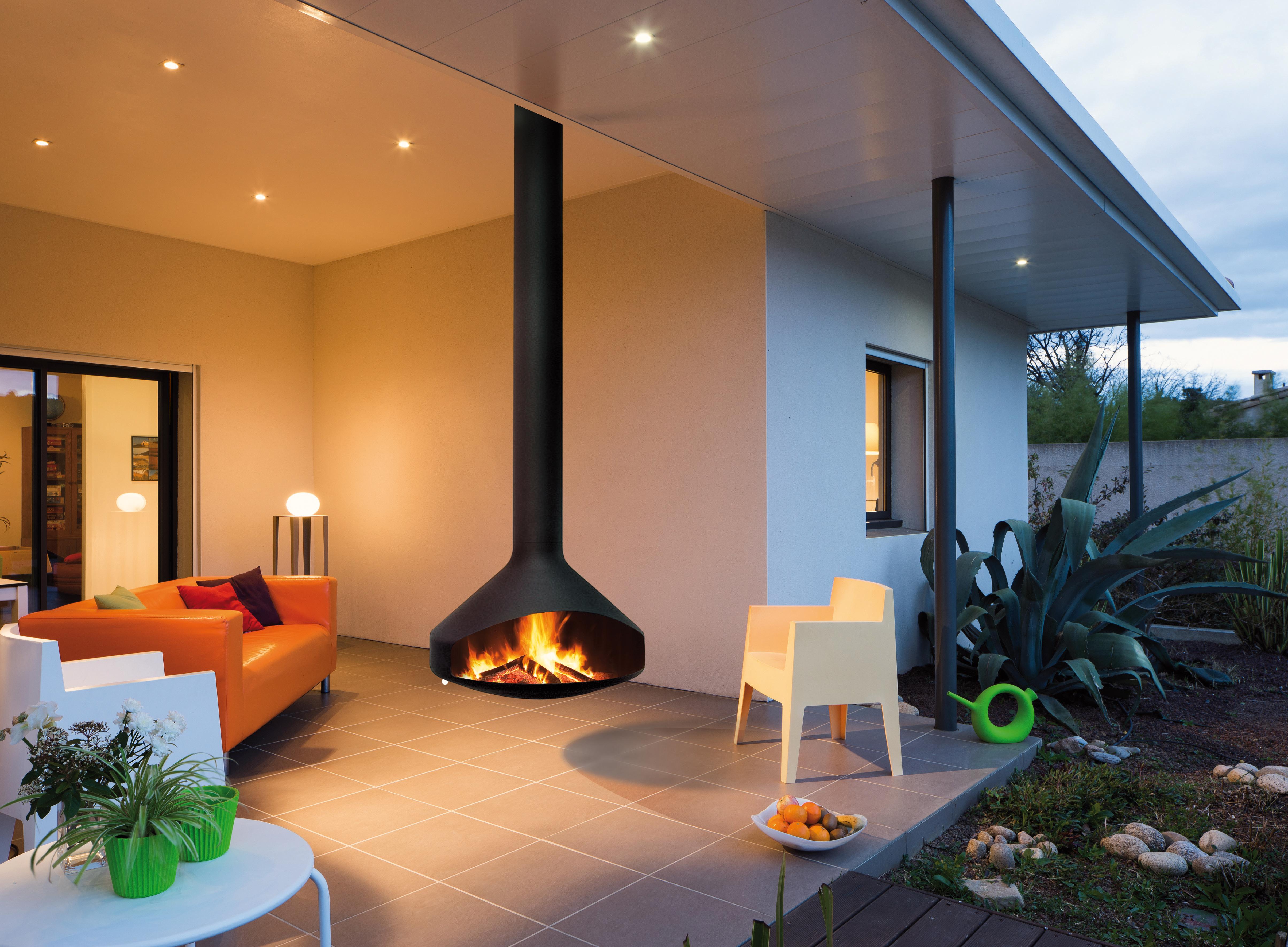 chimenea design de exterior Ergofocus outdoor