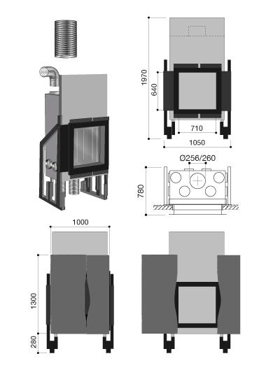 schema de la cheminée design Métafocus 2