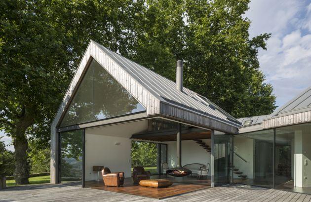 chimenea design de exterior Gyrofocus outdoor