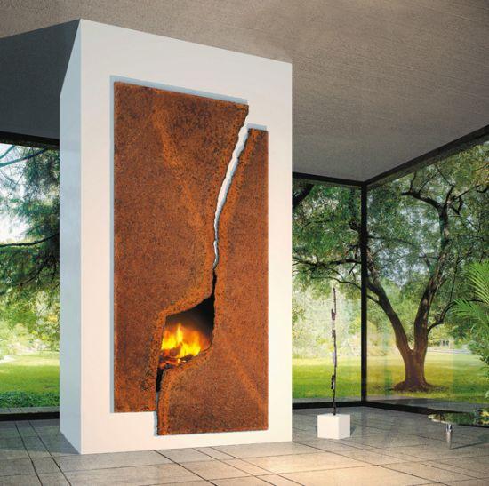 cheminée design Cosmofocus