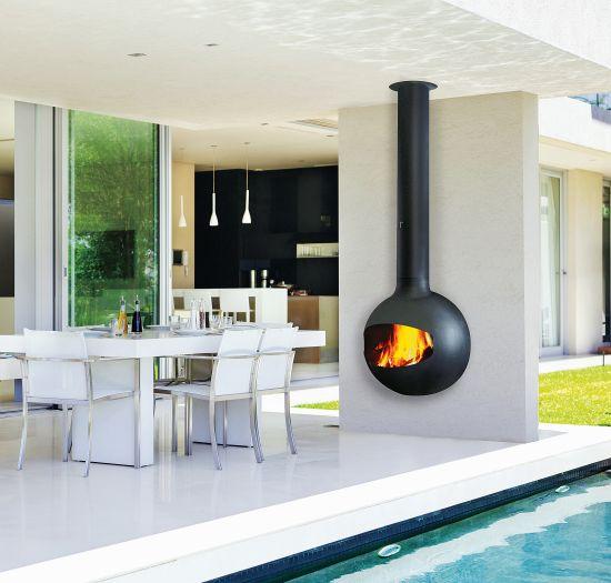 chimenea design de exterior Emifocus outdoor